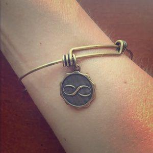 Bella Ryann Gold Infinity Bracelet Bangle